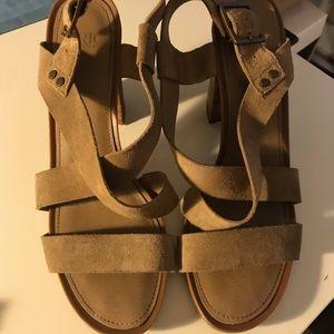 Franco Sarta Strappy Sandle Heel | Size 9.5M